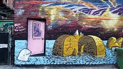 Under Pressure XXI - Montreal 2016 (Exile on Ontario St) Tags: underpressure graffiti streetart montreal under pressure festival street art urbain urban montréal murs mur wall walls artist artists city foufounes électriques foufs derrière foufounesélectriques electriques boisbriand vortex tours tour dauphin dolphin island sea porte door voyage aventure mixin fixin sauces mixing fixing mural murals murale murales