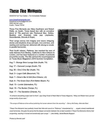 tour press release 8-2-2016