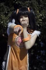 Ling Xiaoyu (maykalvarez) Tags: photo photographer videogame tekken ling xiaoyu china chinese asian girl portrait colsplay nikon orange cute moe kawaii