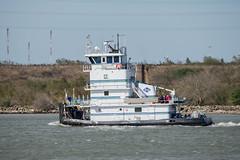 NUECES (Matt D. Allen) Tags: tugboat houstonshipchannel shipspotting tugs maritime kirby marine