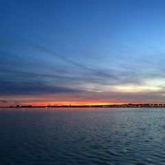 Sunset from Hains Point (Mr.TinDC) Tags: dc washingtondc river potomacriver water sunset sky clouds hainspoint