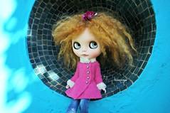 Pink Blue Orange (mademoiselleblythe) Tags: blythe doll zaloa custom reroot stellina