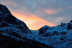 Arctic Mountains on Whale Island (Jason Shorten) Tags: nikkor 50mm d3200 nikon arctic mountain kvaloya tromvik rekvik norway europe ice cold snow cloud flickr