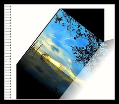 Notes of a Winter sunset unfolding... (acastleblue) Tags: januarysunset unfolding notes smile greglovesadelaide art saturation allsizes acastleblue