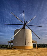 Alentejo Windmill (MrBlueSky*) Tags: windmill moinho alentejo portugal outdoor travel pentax pentaxart pentaxlife pentaxawards pentaxk10d aficionados architecture