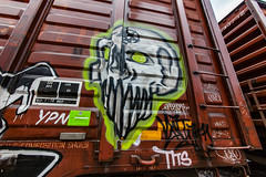 (o texano) Tags: houston texas graffiti trains freights bench benching natas
