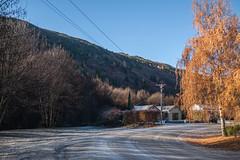 A Frosty Corner (deltics) Tags: trees roads hdr nz southisland arrowtown newzealand otago