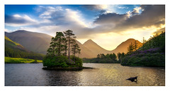 Glen Etive (Sebastian Kraus) Tags: workshop trees water green yellow red sunset sunrise sebastian visit scotland highlands edinburgh loch lochan clouds light sun rain grass stones rocks view take kraus sebastianito glen etive glenetive island