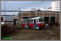 5_rom96_tcb_010aa (r_walther) Tags: depot ratc regiaautonomadetransportincomun romania rumänien strassenbahn tatra tcb timis tram trambetrieb tramclubbasel valeaadinca judeţuliaşi rou
