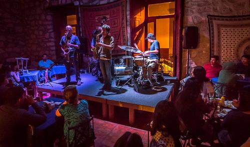 On Stage at Amati Jazz Club - Remi Alvarez