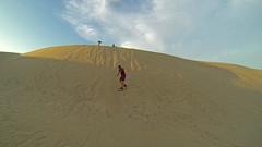 Zjeżdżanie na desce po wydmach | Sandboarding