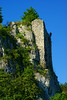 The wall guards (Hejma (+/- 5200 faves and 1,6 milion views)) Tags: watchtower przewodziszowice massive rock wall tree plant mixed forest green