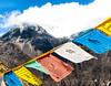 Prayerflags in Nepal (Stig V.) Tags: pray nepal