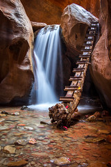 Kanarra Creek Falls (EML.photography) Tags: utah southernutah kanarracreek waterfall slotcanyon kanarra kanarraville