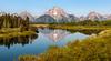 Reflections of Summer - Explore (Ron Drew) Tags: d800 nationalpark snakeriver oxbow wyoming usa reflection mountmoran river trees mountain rockymountains glacier park grandtetonnationalpark jackson