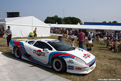Festival Of Speed 2013 - Jaguar XJ220 (Deux-Chevrons.com) Tags: jaguarxj220 jaguar xj220 martini sportcar gt race racing festivalofspeed car coche voiture automobile automotive oldtimer auto racetrack