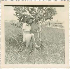 Sweethearts (sctatepdx) Tags: snapshot vernacular oldsnapshot vintageblouse vintagesnapshot