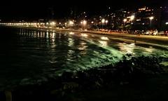 Leme beach. Rio de Janeiro. Long exposure. (luiz2031) Tags: longexposure landscape ngc mobil nigh nighshot sonyz2