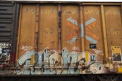 Phone (Revise_D) Tags: graffiti phone mc network tagging freight revised esc wh trainart fr8 bsgk fr8heaven fr8aholics fr8bench benchingsteelgiants