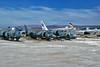 Harriers and Vigi's (skyhawkpc) Tags: airfoto joecupido allrightsreserved hawkerdiddeley av8a harrier northamerican ra5c vigilante wsl 158969 156615 156631 rvah7peacemakers ne611 gj300 rvah3 1995 159258 vma231aces cg08 wf01 wh06 vma513nightmares chinalake rvah3seadragons copyright navy naval usn usnavy aircraft aviation usmc marines usmarines airplane derelict military