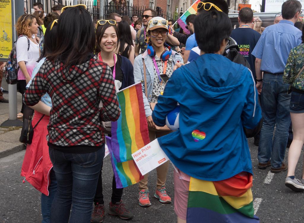 DUBLIN 2015 LGBTQ PRIDE PARADE [WERE YOU THERE] REF-106013