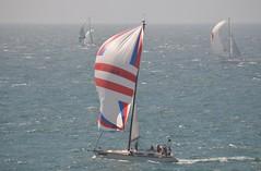Isle of Wight 27 June 2015 204 (paul_appleyard) Tags: sea england june race sails racing round yachts spinnaker isle wight 2015