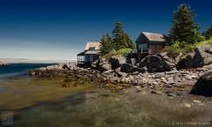 "Deadman's Cove Cottages, Monhegan ME (18""x30"") (JMichaelSullivan) Tags: 100v island maine 600v 200v monhegan 500v 300v 5f 400v mpae mjs2015"