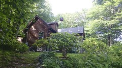 Smoky Mountain Cabin (colonel_woosnam) Tags: columbus ohio white mountains water jack hummingbird nashville mark tennessee kentucky whiskey abraham lincoln daniels whisky cherokee smoky cincinatti makers tolley