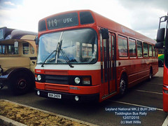 LEYLAND NATIONAL MK.2 BUH 240V TODDINGTON BUS RALLY 12072015 (MATT WILLIS VIDEO PRODUCTIONS) Tags: bus buh rally national mk2 leyland 240v toddington 12072015