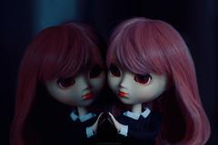 отражение (teatimealchemist) Tags: pink doll wig pullip custom stica rewig
