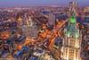 The Manhattan Municipal (kirit prajapati photography) Tags: newyorkcity sunset newyork night downtown brooklynbridge woolworth magichour nycity downtownnewyork brooklynny downtownny magiccity nikond810 bestskyline cityneversleep nikon142428mmnikon gittzotripod themanhattanmunicipal