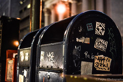 Special Delivery (chadfegley7) Tags: sf life california graffiti nikon mail tag tourist usps d3200