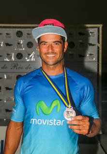 Iván Pastor, podio en Río de Janeiro