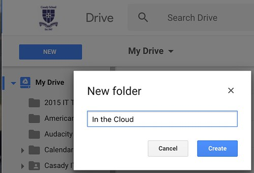 Step 1 - Create Cloud Folder by Wesley Fryer, on Flickr