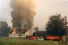 THB-2004-320f (dbagder) Tags: bedrift brann brannbil butikk bygning hendelse kjøretøy kristiansand vestagder norway nor