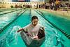 Cardboard Regatta (Phil Roeder) Tags: desmoines iowa desmoinespublicschools students education school pool swimmingpool boat cardboardboat canon6d canonef24105mmf4lisusm