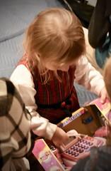 Cashier (donna_0622) Tags: toddler gift christmas cashregister toy nikon d750