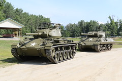M24 Chaffee and the M36 Tank Destroyer (jkracing50) Tags: tanks m24 chaffee m36 worldwar2tanks