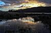 Dawn flood (prajpix) Tags: dawn sunrise sunup rhidorroch ullapool westerross rosshire highlands scotland loch achall trees mountains hills estate nature sky clouds water burn
