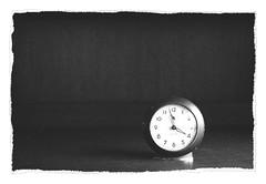 Untitled 202 (Takako Kitamura) Tags: bw blackwhite clock westclox