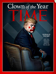 Clown of the Year (PhotoAtelier) Tags: parody satire protest fascism trump dystopia evilclown