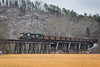 Lucky SD70 (Peyton Gupton) Tags: ns norfolk southern surgoinsville trestle appalachia district sd70 coal