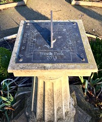 Sundial 20/365 (3) (♔ Georgie R) Tags: sundial worthpark miltonmountgardens poundhill crawley sussex explore