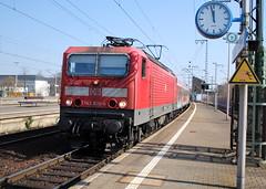 FFS 1 April 2009 (hayling billy) Tags: 101 120 140 151 155 goods güterzuge ic dresden