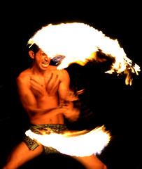 Hawaiin Fire Dancer (Patrick James Colorado) Tags: hawaii maui luau polynesia polynesian hawaiin island wailea dancing firedancing fire flame d3100