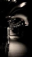 © (rinaldimatteo) Tags: bnw tunnel picture light canon 5terre