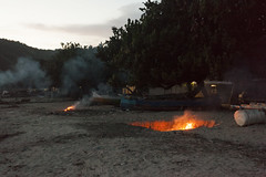 (Jani Kuusonen) Tags: fire bonfire beach indonesia kuta village