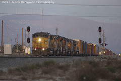 2007-02-20 UP 2260 West at Cabazon (Travis Berryman) Tags: unionpacific beaumonthill uprr upyumasub desertrailroading