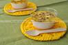 Creme de tapioca e coco com calda de maracujá (Letrícia) Tags: pudding creme tapioca coco coconut maracujá passionfruit
