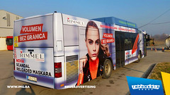 Info Media Group - Rimmel, BUS Outdoor Advertising, 12-2016 (7) (infomedia_group) Tags: bus advertising wrap outdoor branding busadvertising rimmel